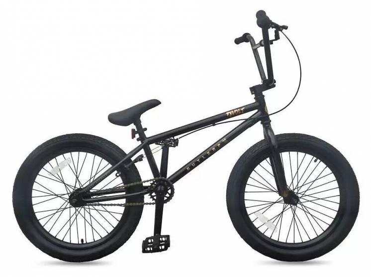 Велосипед BMX Outleap Revolt 2020, черный (Киев)