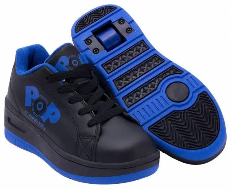 Роликовые кроссовки Heelys POP Wave (с кнопкой) HES10292 (Киев)