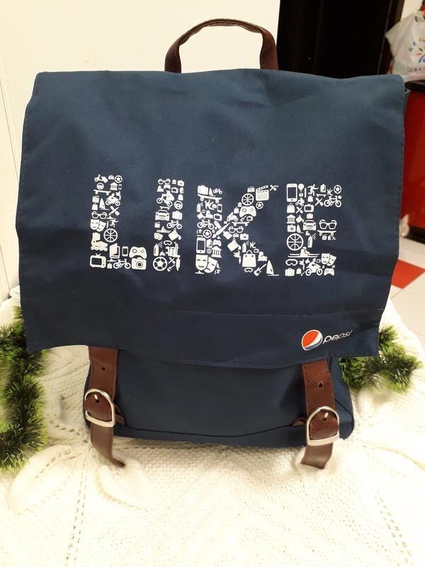 Новый крафтовый рюкзак PEPSI (25л)