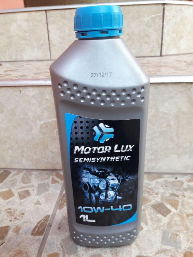 Моторное масло Motor Lux Semisynthetic 10W-40 1л