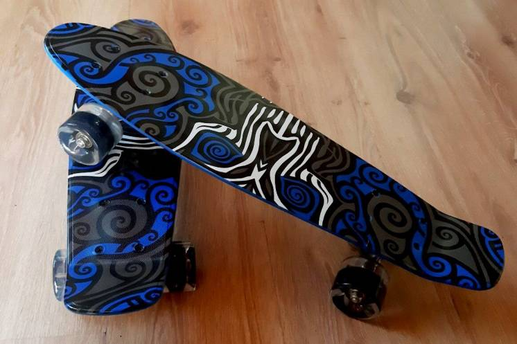 Пенни борд Скейт Огонь Best Board колеса полиуретан