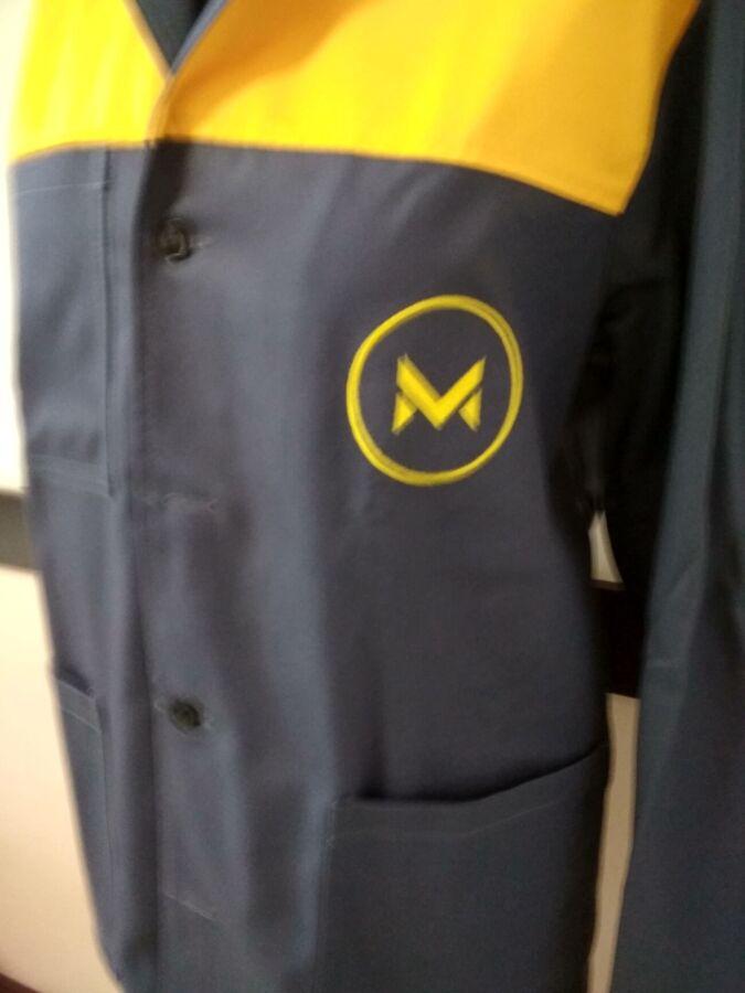 Пошив рабочих халатов, униформы, спецодежды, наносим логотип