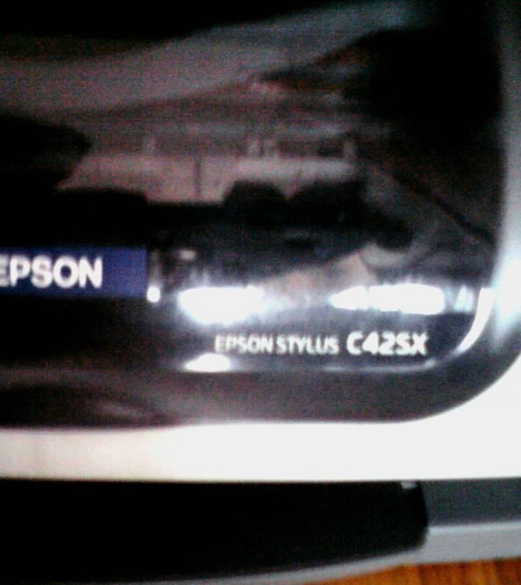 Принтер Epson C42SX или обменяю