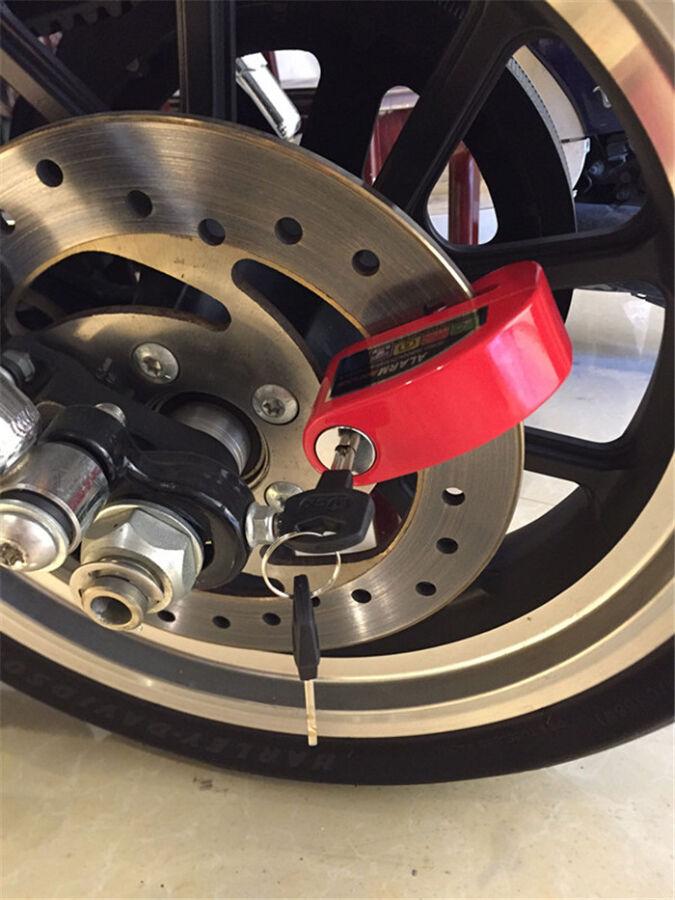 замок блокиратор колеса со звуковой сигналицацией противоугонка