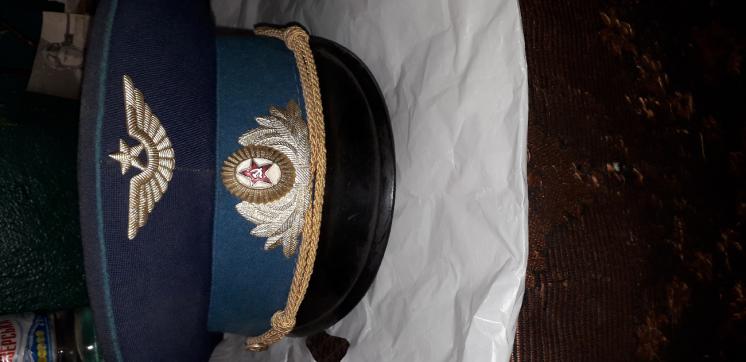 Фуражка ВВС СССР.