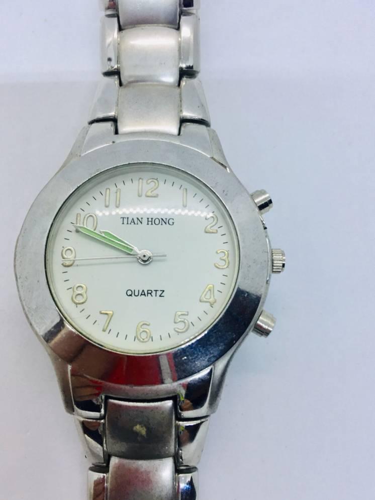 TIAN HONG  брендовые часы water resistant фосфорный циф