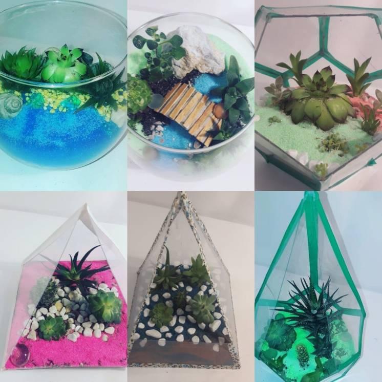 Флорариум, композиции,мини сады