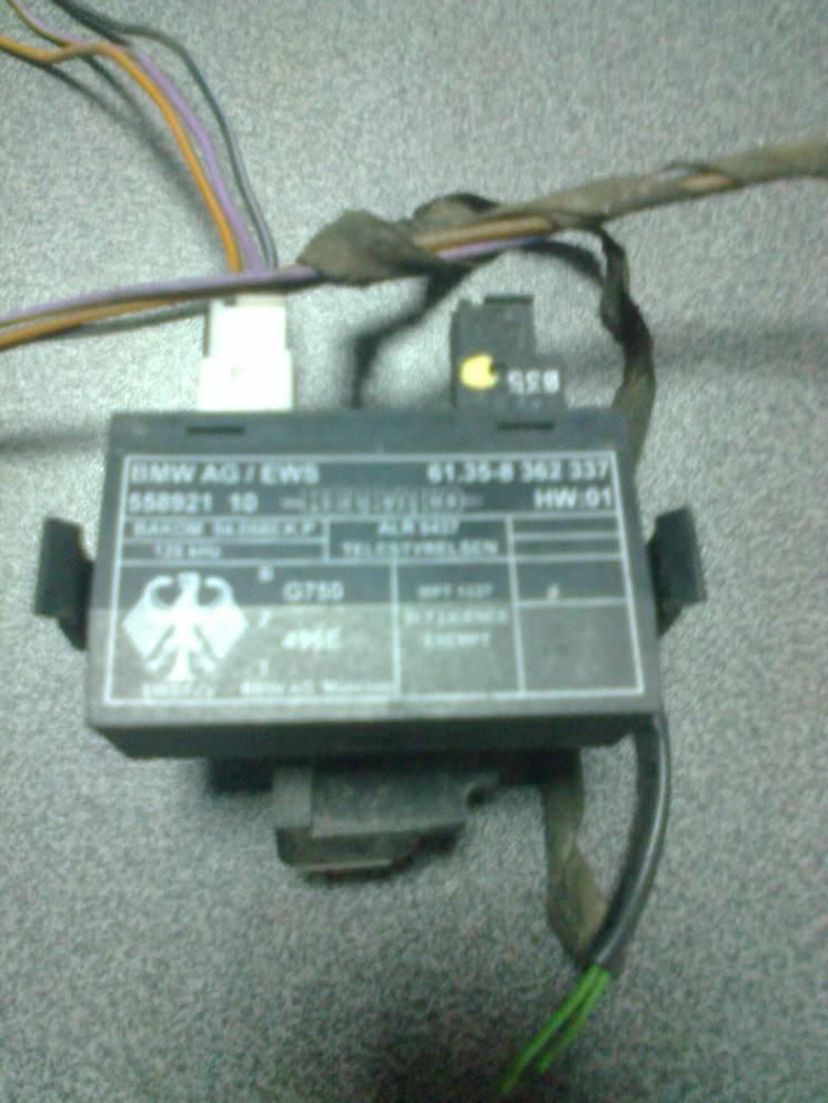 61358362337 Приемо-передающий модуль bmw Е34 Е36 Е38 Е39 блок EWS