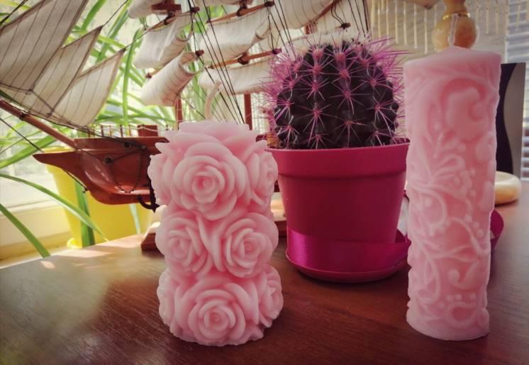 Продам красивые декоративные свечи