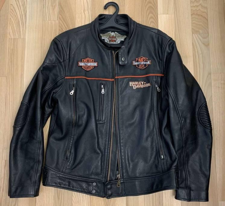 Курточка кожаная Harley-Davidson USA L кожаная 50-52 размер