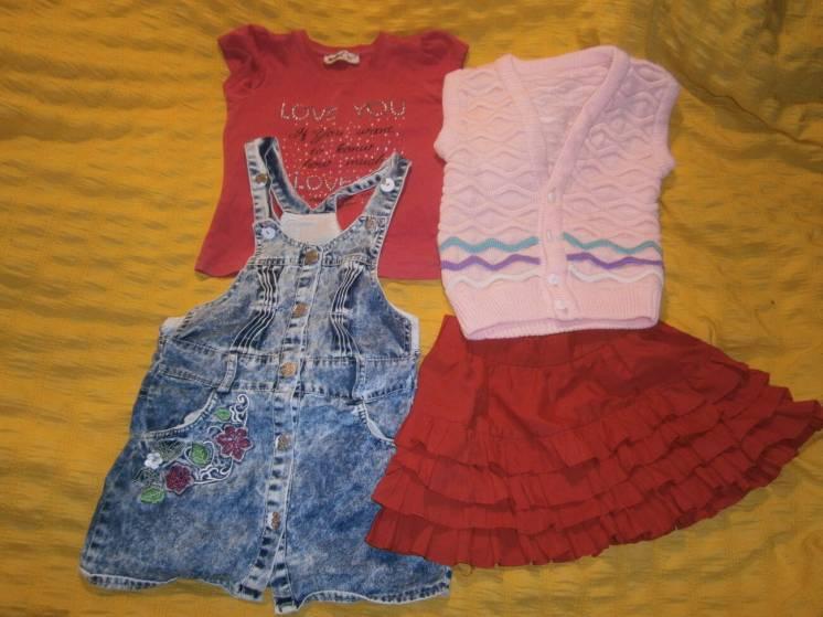 Комбинезон-сарафан-платье.  Diamond Kids  р. 110-5v/ Турция