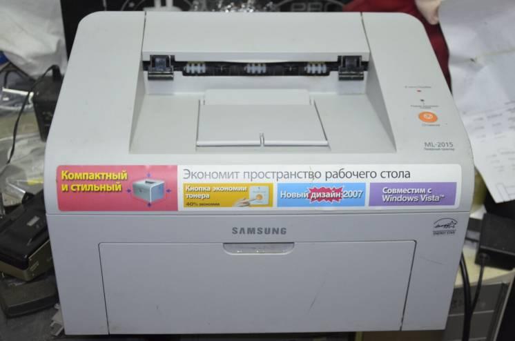 Лазерный принтер Samsung ML-2015 пробег 4800 листов