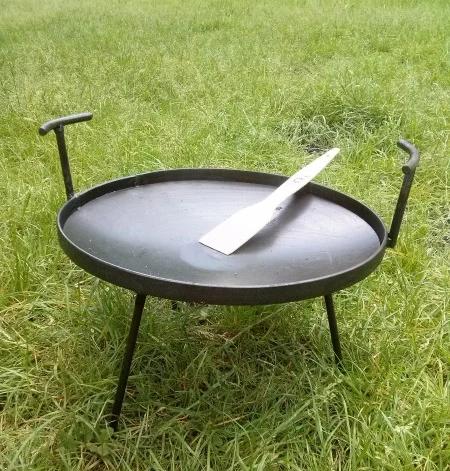 Сковорода мангал для пикника из диска
