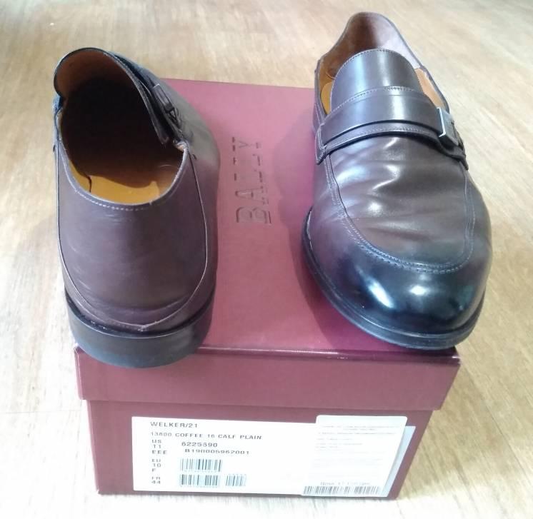 лоферы Bally кожа туфли