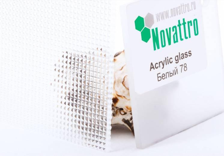 Светорассеиватели из полистирола Novattro Prism 2 мм (прозрачный)