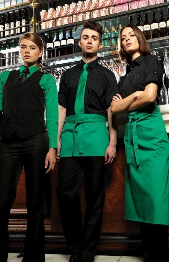 Одежда для официантов кафе, баров, ресторанов, форма бармена