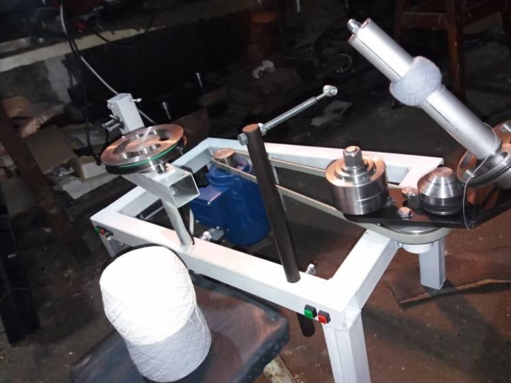 Моталка для тонких ниток электрическая металлическая автоматическая