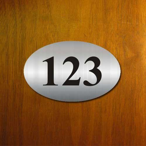 Номерок металлический на входную дверь изготовим за 1 час