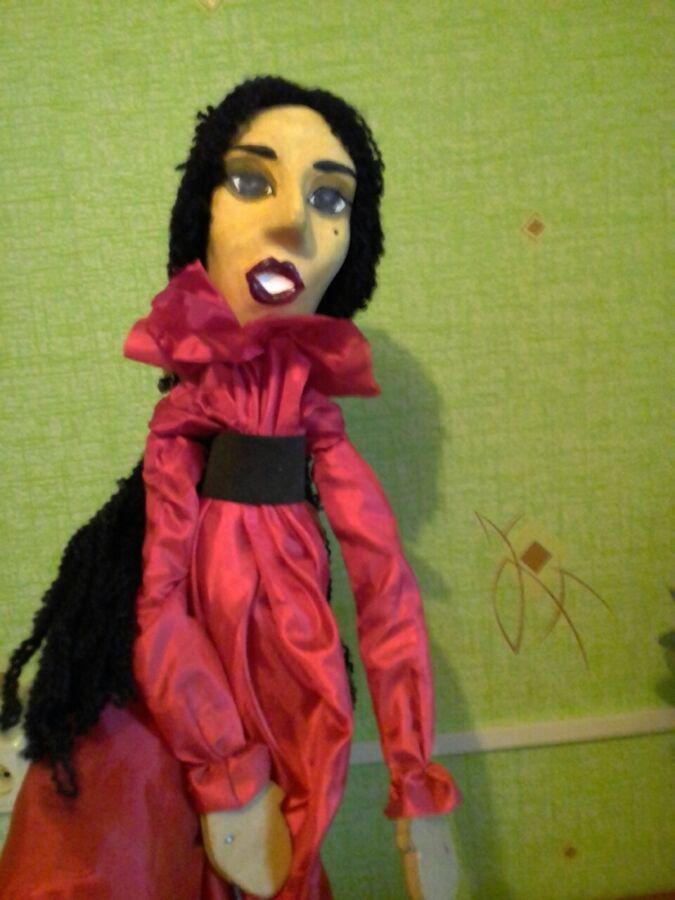 Продаетца тростевая театральная кукла
