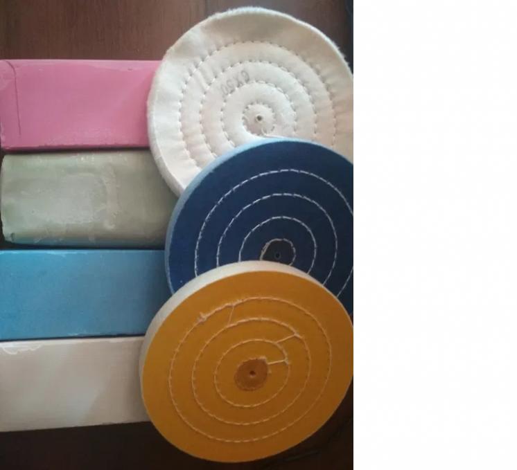Полировальные пасты для дисков, стали и сплавов