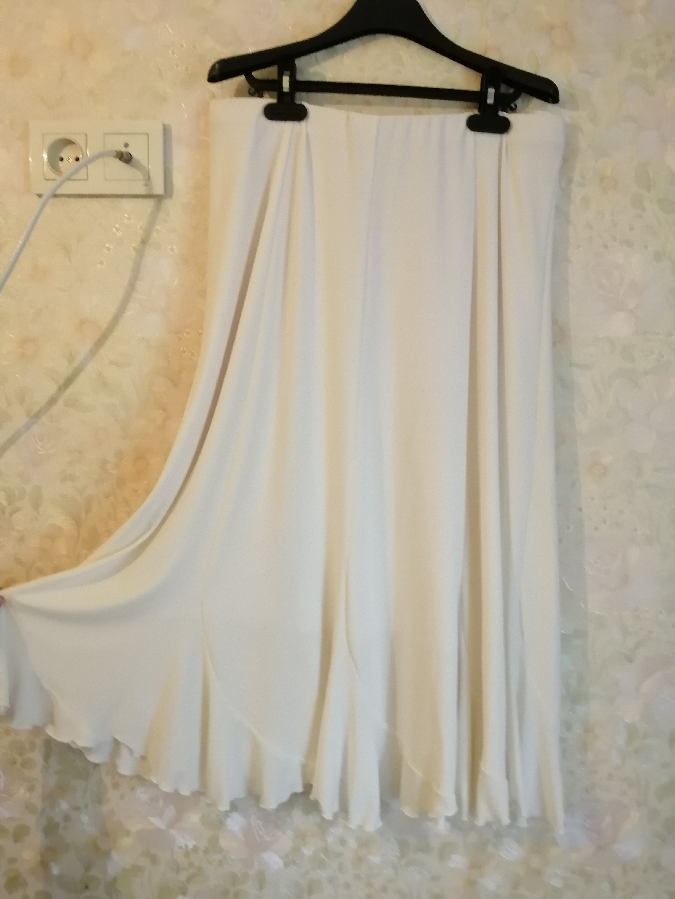 Трикотажная юбка.