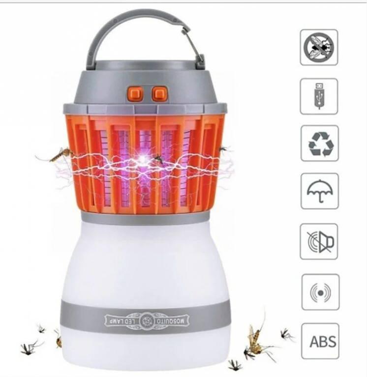 Знищувач комарів ліхтар SUNROZ Killer Lamp M4 IP67 2в1 Водонепроникний