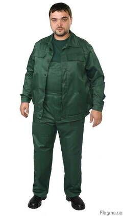 Костюм рабочий зелёный черкасская грета, спецодежда