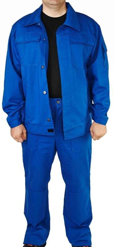 Спецодежда рабочая, костюм саржевый 100% хлопок, куртка, брюки