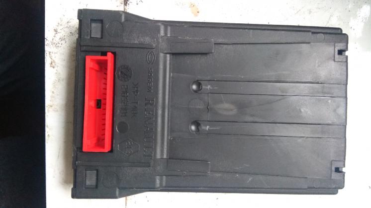 Блок управления телефоном Renault Espace 2002 8200006159.
