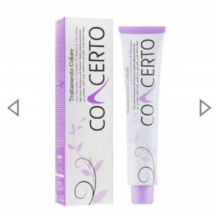 Concerto Color Treatment - Краска для волос с кератином, экстрактом ма