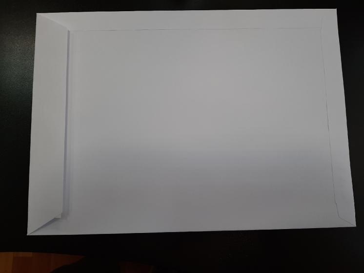 Конверт белый 324×229