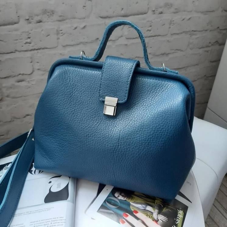 Кожаная сумка сумочка женская из кожи
