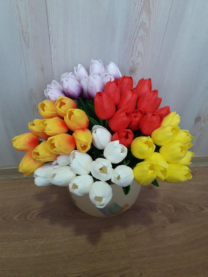 Искуственный цветок тюльпан