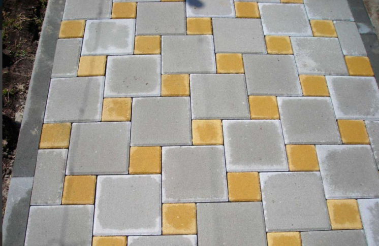 Тротуарная плитка Квадрат большой