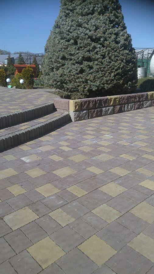Тротуарная плитка Гранито