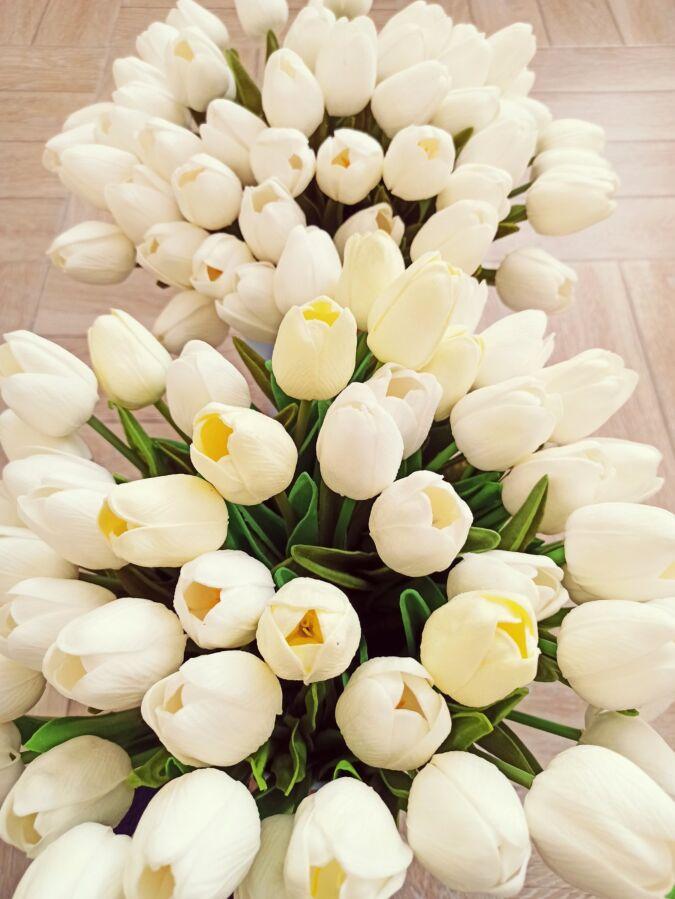 Тюльпаны. Цветы искусственные