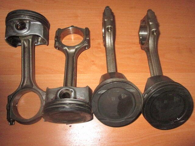 Поршня, шатуны Opel Corsa D, Е, Meriva 1.4 A14NEL, A14NET.