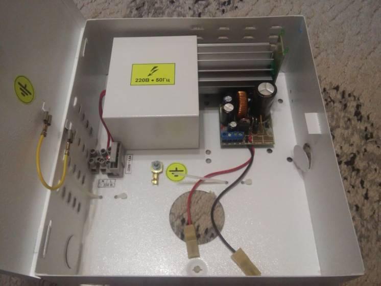 IPS-1230C - Трансформаторний блок живлення 12В, 3А
