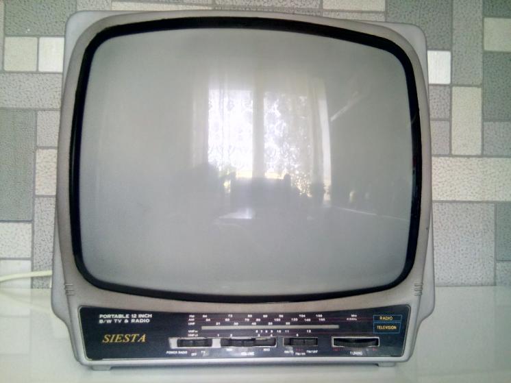 Телевизор SIESTA ч/б