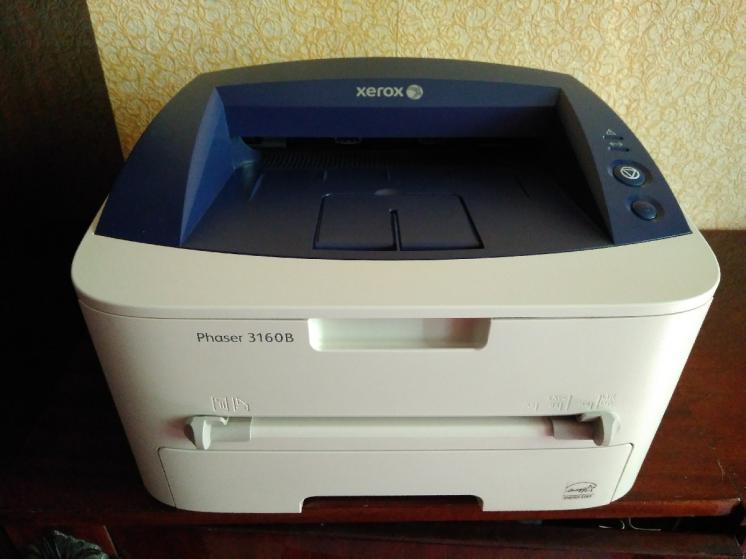 Лазерный принтер Xerox Phaser 3160B в отличном состоянии
