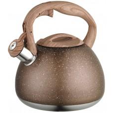 Чайник 2,7л. мрамор. Нержавеющая сталь.