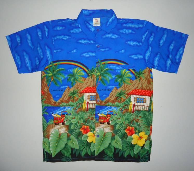 рубашка  Гавайская Rima гавайка India S