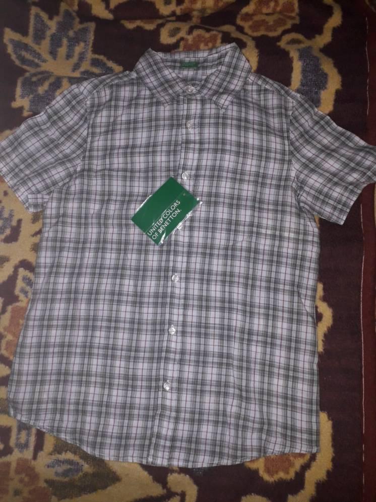 Рубашка шведка летняя Benetton