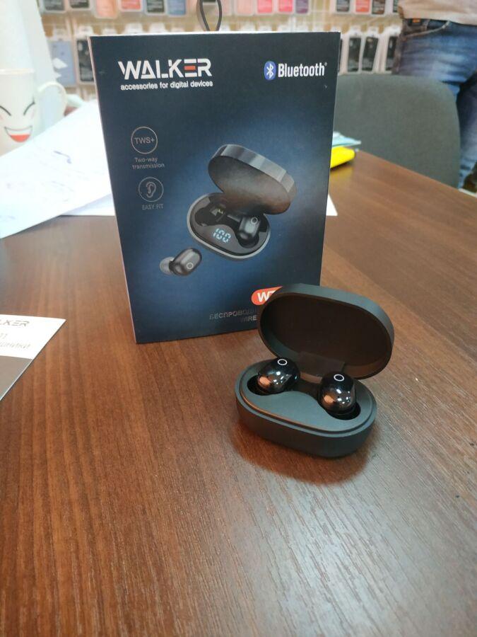 Наушники Bluetooth WALKER WTS-11 black