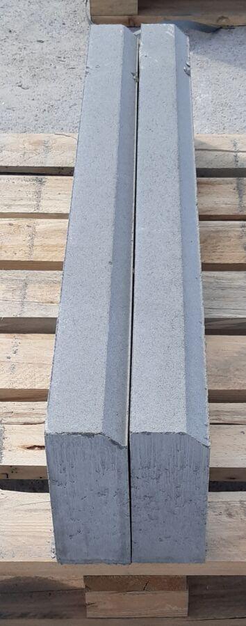 Бордюр 1000х200х80 мм вибропресованный