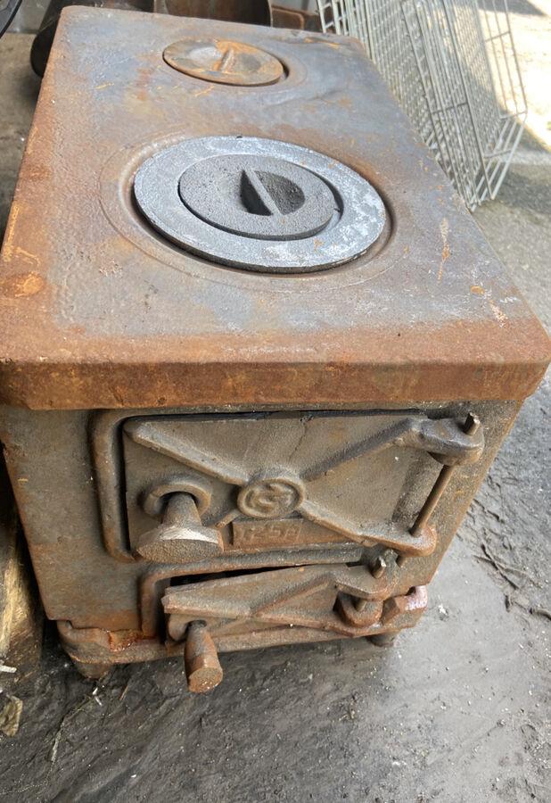 Печка печь буржуйка чугунная піч чавунна камін камин булерьян топка