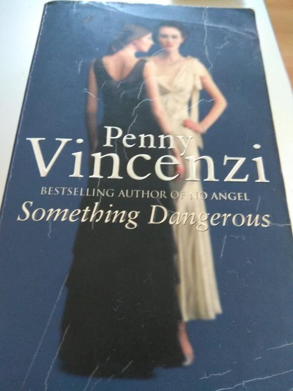 Бестселлер на английском Something Dangerous by Penny Vincenzi