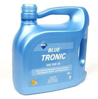 Масло 10W40 Blue Tronic (4L) (VW501 00/505 00/MB 229.1)