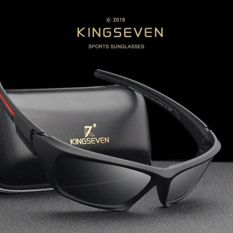 Поляризационные очки KINGSEVEN,примиум качество,брендовые, UV400