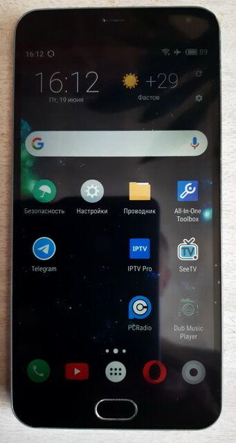 телефон Meizu M2 Note серый